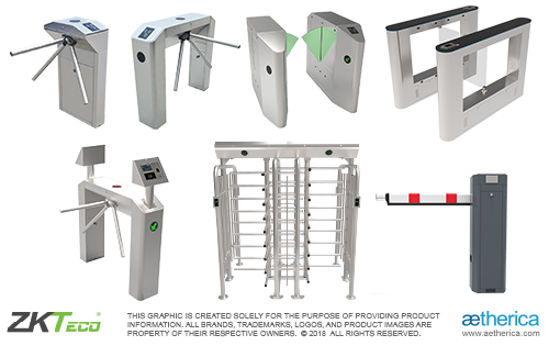 Automatic Gate, Access Gate, Barrier Gate, Turnstile / Tripod Barrier,  dan Vehicle Barrier Gate