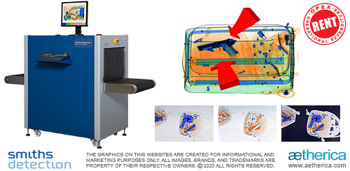 Smiths Detection X-Ray Security Inspection System - RENT Option (OPEX Operational Expenditure)