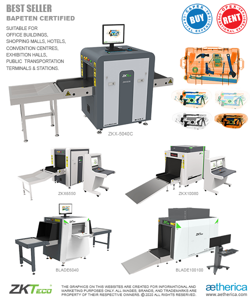 ZKTeco X-Ray Security Inspection System - BUY & RENT Option (CAPEX Capital Expenditure & OPEX Operational Expenditure)